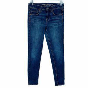 American Eagle Jeans 4 Super Skinny Stretch Denim